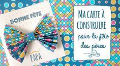 C'est bientôt la fête des papas, voici une jolie carte à préparer avec vosloulous pour faire une belle surpriseà leur papa ! le matériel nécessaire : imprimante couleur (fichier à télécharger et imprimer ci-dessous) ciseaux colle  Découper la carte et le motif du noeud papillon. Plier lemotif en accordéon. Placer la bandelette de papier …