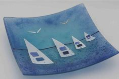 Fused glass table decorations - House Of Ugly Fish