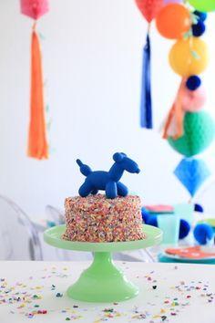 balloon animal party ideas Aces 1st Birthday Pinterest