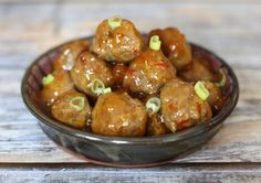 These holiday appetizer recipes and snacks are perfect for Christmas and New Year's Eve parties.  Choose from dips, meatballs, sandwiches, and more.: Sweet and Hot Pork Meatballs