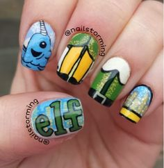Elf the movie nails!