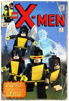 Original X-Men Lego Style byMichael Napolitan