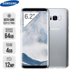 Samsung G955 Galaxy S8 Plus 64GB plata | InterTienda  https://www.intertienda.es/tienda/moviles/samsung-g955-galaxy-s8-plus-64gb-plata/