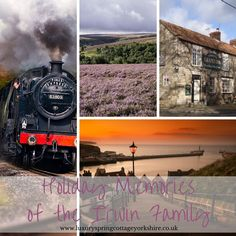 Family time enjoying many great attractions close to Spring Cottage North Yorkshire