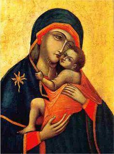 Puntadas divinas: Nuestra Señora de Nápoles 27 de Mayo