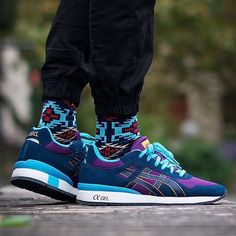 @asics GT-2 Purple/Navy by @sneakertibs Use the hashtags #sneakersaddict and #sadp for a feature! # #AsicsGT2 #Asics #instatag #reebok #kicksoftheday #nike