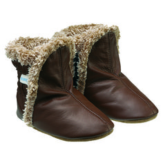 Brown Classic Baby, Infant, Toddler Boots | Robeez