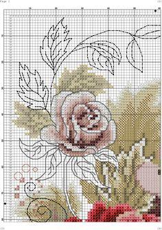 Blackwork Cross Stitch, Cross Stitch Thread, Cross Stitch Boards, Cross Stitch Needles, Cross Stitch Rose, Cross Stitch Flowers, Counted Cross Stitch Patterns, Cross Stitching, Cross Stitch Embroidery
