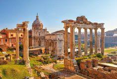 Rome - les forums romains