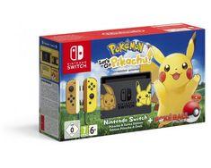 Nintendo Switch Pelikonsoli Pokemon Lets Go Pikachu Edition netistä edullisesti | VPD.fi Verkkokauppa