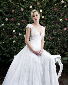 Angela Marcuccio Bridal 2015 Collection - Wedding Dresses For Women Couture Wedding Gowns, Bridal Gowns, Wedding Dresses, Beautiful Wedding Gowns, Beautiful Bride, Bridal 2015, Pnina Tornai, Polka Dot Wedding, Vintage Stil