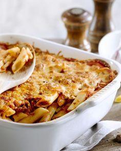 Macaroni met gehakt uit de oven