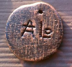 Hera Medallion - Mycenaean - Linear B