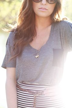 the daybook: love that pig necklace!!