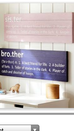 In case baby #2 is a boy...love these for their room!