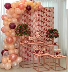 [New] The 10 Best Home Decor (with Pictures) - Diy Birthday Decorations, Balloon Decorations, Wedding Decorations, Decoration Evenementielle, Gold Birthday, Gold Party, Holidays And Events, Event Decor, Party Planning