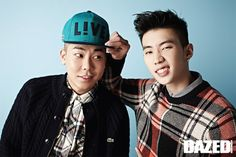 Jay Park and Loco - Dazed and Confused Magazine September Issue '14