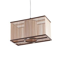 Cuboid Pendant, $299, now featured on Fab. Tom Raffield Wildly Creative Wood Lamps Inspired by the natural grandeur of southwest England, Tom Raffield creates stunning sculptural lamps from sustainably grown wood, manipulating it through his own adaptation of traditional steam bending. The materials and techniques may be simple, but these untamed shapes are remarkably complex.