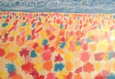 Beach Bright. Art piece by talented young artist Geoffrey Files.