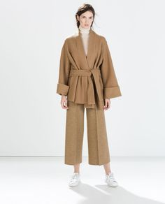 Zara Studio Knit Kimono SENSIBLE WINTER COATS: WOOL COATS UNDER £110 – Part 1 http://wp.me/p4T872-fA