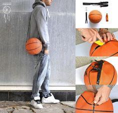 DIY Basketball bag