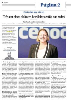 Globo story about Facebook and the Brazil elections