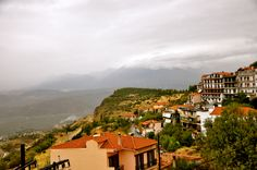 Greece hilltop