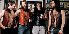 Fantastic relaxed candid band photo Monster Truck Band Photo