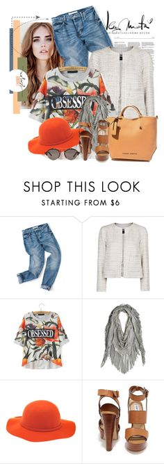 """""""Untitled #2441"""" by bellerodrigues ❤ liked on Polyvore featuring MANGO, Steve Madden, Illesteva, women's clothing, women's fashion, women, female, woman, misses and juniors"""