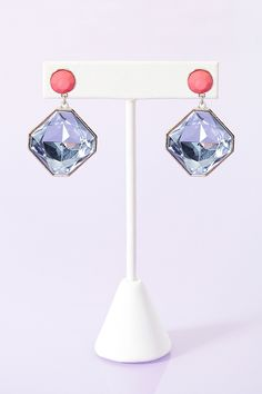 Crystal Pop Earrings