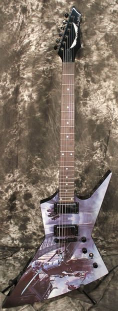 Dean Zero Dystopia Dave Mustaine Electric Guitar