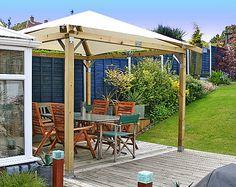 DIY grden gazebo | Categories : Garden Garden Gazebo Ideas