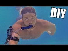 Incredible DIY Underwater Breathing Device [Video] - This little underwater breathing device is one of the coolest we have seen so far and you can make it yourself!