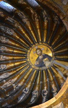 cupola del Museo Kariye (la Chiesa del Santissimo Salvatore in Chora), Istanbul