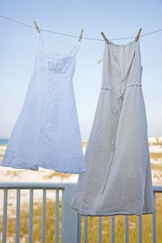 pretty cotton and linen dresses by Matteo and Suite Dreams ~ Victoria Mag