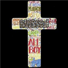 "12"" Blessed Boys Cross 