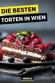 Du bist auf der Suche nach einer tollen Torte für einen besonderen Anlass? Wir verraten dir unsere ganz persönliche Hitliste mit den besten Geschäften in Wien, in denen man ausgezeichnete Torten kaufen kann. #wien Restaurant Bar, Raspberry, Restaurants, Fruit, Desserts, Food, Kaiserschmarrn, Coffee Cafe, Food For Kids