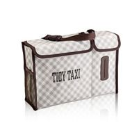 Pack N' Pull Caddy in Taupe Gingham | Thirty-One Gifts