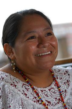 Rigoberta Menchu, Nobel de Paz en 1992 por su lucha indigenista. #Guatemala www.cooperativeforeducation.org