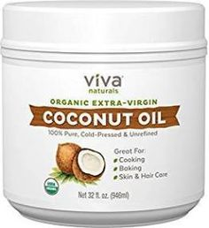 What Makes Viva Naturals Organic Extra Virgin Coconut Oil So Superior? Natural Fungus Fighter - The properties of coconut oil help fight candida and yeast, promoting skin and digestion support. Best Coconut Oil, Natural Coconut Oil, Coconut Oil For Acne, Coconut Oil Hair Mask, Extra Virgin Coconut Oil, Benefits Of Coconut Oil, Organic Coconut Oil, Oils For Skin, Organic Skin Care