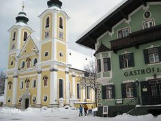 St. Johann in Tirol, Austria - My favorite place in the world! I want to go back someday!