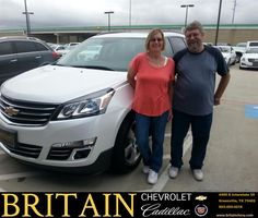 https://flic.kr/p/AAtKTJ | Congratulations Rachel & James on your #Chevrolet #Traverse from Mike Donahoe at Britain Chevrolet Cadillac! | deliverymaxx.com/DealerReviews.aspx?DealerCode=I827