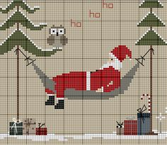 Designing Your Own Cross Stitch Embroidery Patterns - Embroidery Patterns Santa Cross Stitch, Cross Stitch Tree, Cross Stitch Cards, Cross Stitching, Cross Stitch Embroidery, Embroidery Patterns, Cross Stitch Patterns, Hexagon Quilt Pattern, Cross Stitch Freebies