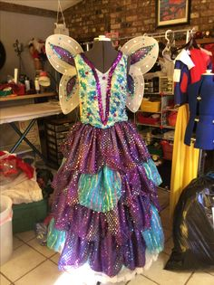 Fairy godmother from Shrek the musical costume by Gussie and Gertie's Costume Rental.