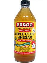 1/2 cup Organic Apple Cider Vinegar, 1/2 cup water. Mix the apple cider vinegar and water.  After shampooing, pour it on your head and massage into the hair and scalp with your fingers. Rinse with warm water to remove. I use a recycled dish soap squeeze bottle and squeeze onto my hair after shampooing...fantastic hair rinse!  Restores shine and abates the frizzies :-)