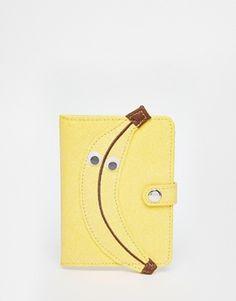 Skinnydip - Porte-passeport motif banane
