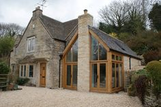 oak glass external