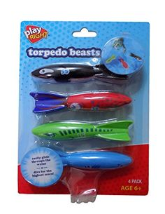 Torpedo Beasts Marine Life 4 Pack - Orca, Squid, Sharks Dive into fun this summer Fling the torpedo underwater and watch them glide Chuck and chase them, or dive down Great for pool games Bright, marine animal designs Shark Diving, Sharks, Pool Games, Pool Toys, Kids Bike, Animal Design, Marine Life, Underwater, Beast