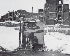 Michael Nash. Varsovia, Polonia. Hacia 1946.