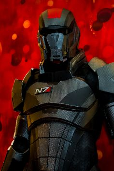 N7 armor project from the Mass Effect series  by ~hsholderiii